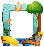 Fishing Frame Stock Images