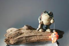 Fishing Frog Stock Photo