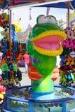 Fishing game at carnival Stock Photos