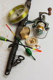 Fishing gear Stock Photography