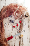 Fishing gear Royalty Free Stock Photo