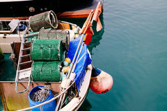 Fishing gears Royalty Free Stock Images