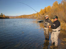 Free Fishing Guide Stock Image - 34362511