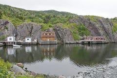 Fishing hamlet by the Atlantic Ocean Stock Images