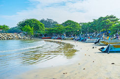 Fishing harbor in Galle Royalty Free Stock Photography