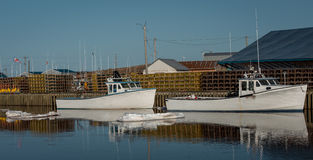 Fishing harbor Stock Photography