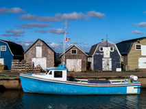 Fishing Harbor, PEI Royalty Free Stock Photography
