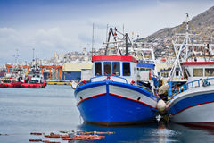Fishing harbor. Royalty Free Stock Image