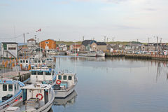 Fishing Harbour Royalty Free Stock Photos