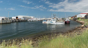 Fishing Harbour Royalty Free Stock Photo