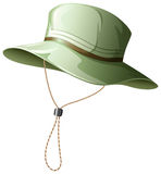Fishing hat Stock Images
