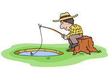 Fishing Hole Stock Photography