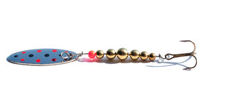 Fishing hook stock photo