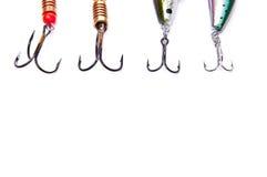 Fishing Hooks Stock Image
