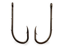 Fishing hooks Stock Photography