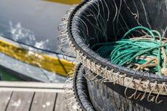 Fishing hooks Royalty Free Stock Photography