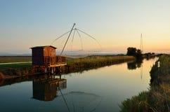 Fishing house Stock Image