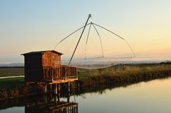 Fishing houses Royalty Free Stock Photography