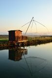 Fishing houses Stock Images