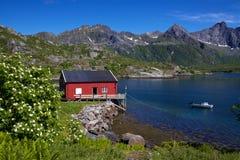Fishing hut Stock Image