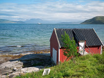 Fishing hut Royalty Free Stock Images