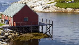 Fishing Hut Stock Images
