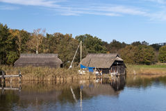 Fishing hut Stock Photography