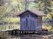 Fishing hut Royalty Free Stock Photo
