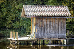 Fishing hut Stock Photo