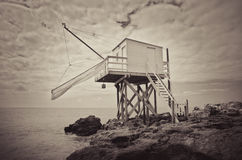 Fishing hut Royalty Free Stock Image