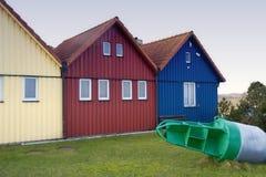 Fishing Huts Stock Photography