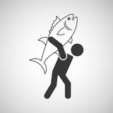 Fishing icon design. Fishing concept design,  illustration eps10 graphic Stock Photo