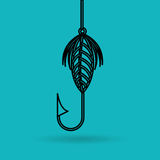 Fishing icon design. Fishing concept design,  illustration eps10 graphic Royalty Free Stock Image