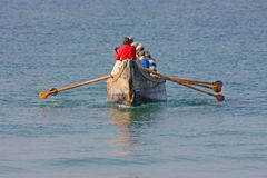 Fishing in India Royalty Free Stock Images