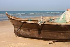 Fishing Indian boat Royalty Free Stock Photos