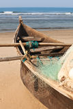 Fishing Indian boat Royalty Free Stock Photography