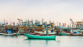 Fishing industrial in Thailand Royalty Free Stock Photo