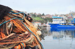 Fishing industry Royalty Free Stock Photo