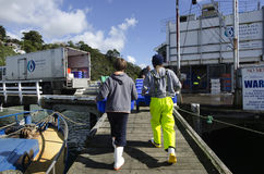 Fishing industry Royalty Free Stock Photography