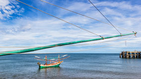 Fishing industry in Thailand Royalty Free Stock Image