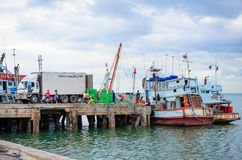 The fishing industry. Stock Photo