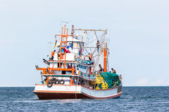 Fishing industry in Thailand Royalty Free Stock Images