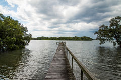 Fishing Jetty Royalty Free Stock Photos