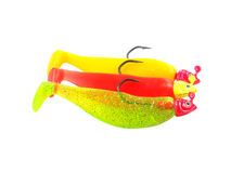 Fishing jig shad lure Royalty Free Stock Photos