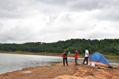 Fishing Lake Royalty Free Stock Image