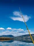 Fishing on Lake Laberge, Yukon Territory, Canada Royalty Free Stock Photography