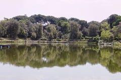 Fishing lake Royalty Free Stock Images