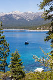 Fishing in Lake Tahoe Royalty Free Stock Images