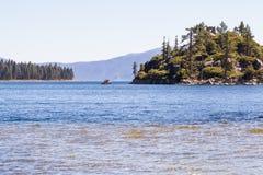 Fishing Lake Tahoe Stock Photography