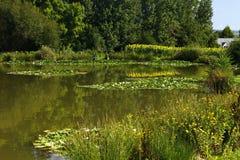Fishing Lake. At Twelve Oaks Holiday Park Stock Photos